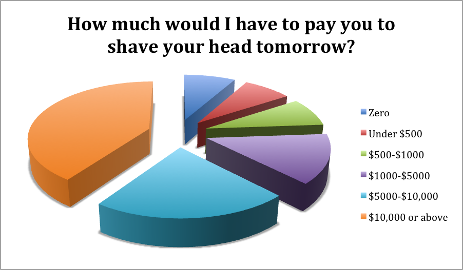 Survey Results The Beauty Experiment